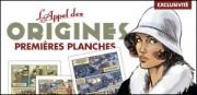 Les premières planches de L'Appel des origines dans Arts graphiques, BD, illustrateurs g3110