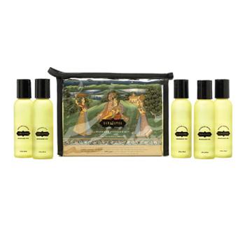 cadeaux - Kit massage aphrodisiaque