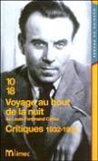 Voyage au bout de la nuit - Critiques 1932-1935